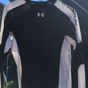 Men's under armor pullover workout shirt...